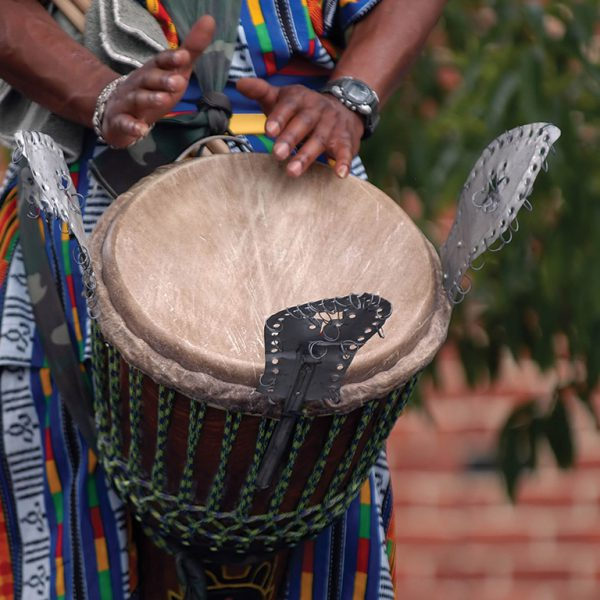 Djembe in action